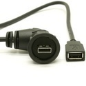 USB Waterproof Right Angled Extension