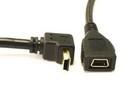 USB 2.0 Mini-B Angled Extension