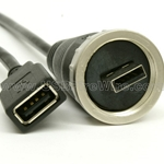 USB Ruggedized / Waterproof A Extension Cable