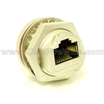 RJ45 Zinc Alloy Rugged Connector