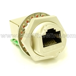 RJ45 Zinc Alloy Rugged Coupler