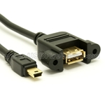 USB 2.0 Extension Cable (A to Mini-B)