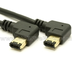 FireWire Device Cable (Double Right Angle)