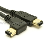 Right Angle Firewire Cable