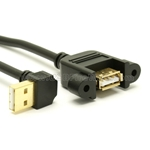 USB 2.0 Extension Cable (Down Angle)