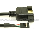 USB 2.0 Cable A Female to Motherboard
