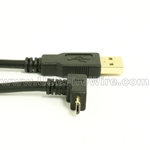 USB 2.0 A to Up Angle Micro-B Cable