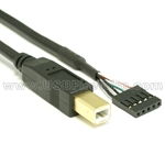 USB 2.0 Cable B Male to Header Connector