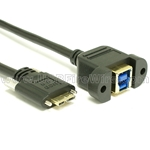 USB 3.0 Extension - B to Micro-B