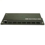 Industrial USB 2.0 Hub - 7 Port - Powered