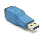 USB 3.0 Gender Changer - ASBF