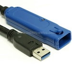 Long USB 2.0 Extension w/Enhanced Shield