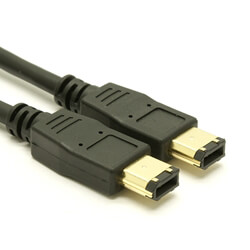 FireWire Cable - 6pin to 6pin