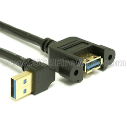 USB 3.0 Extension - A Type - Panel Mount